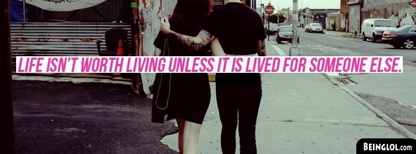 Lived For Someone