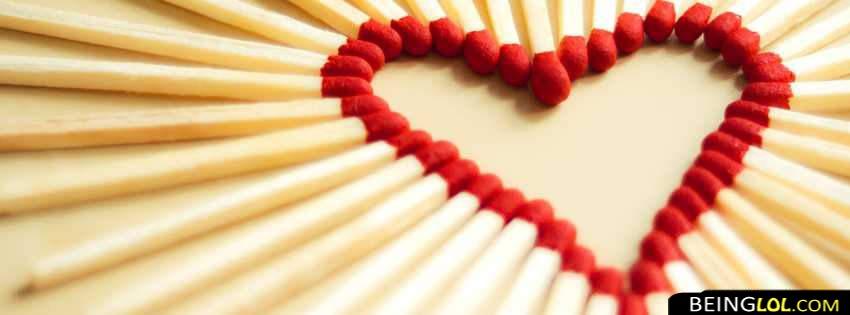 match sticks heart