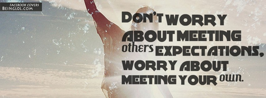 Meeting Others Expectations
