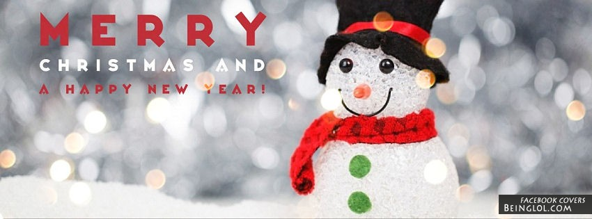 Merry Christmas And A Happy New Year Facebook Cover & Merry ...