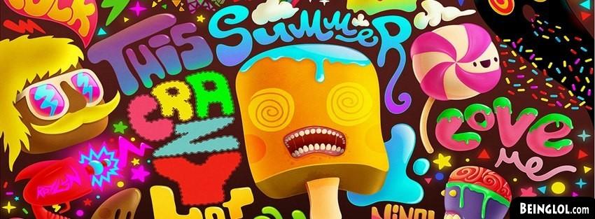 Multicolor Summer Psychedelic