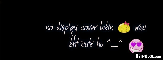 No Display Lakin Mai Bht Cute Hu