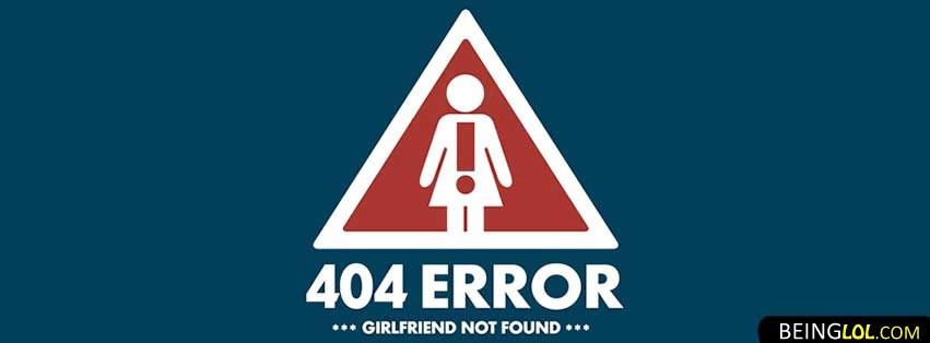 No Girlfriend Found