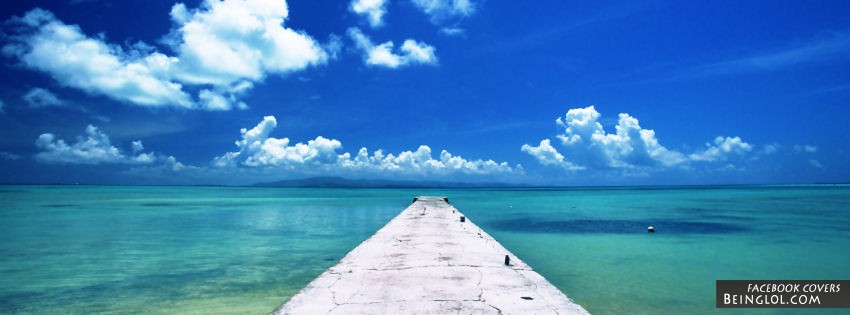 Okinawa Beach Facebook Covers