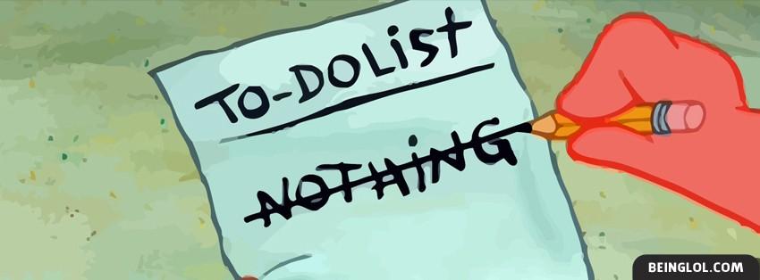 Patrick To Do List