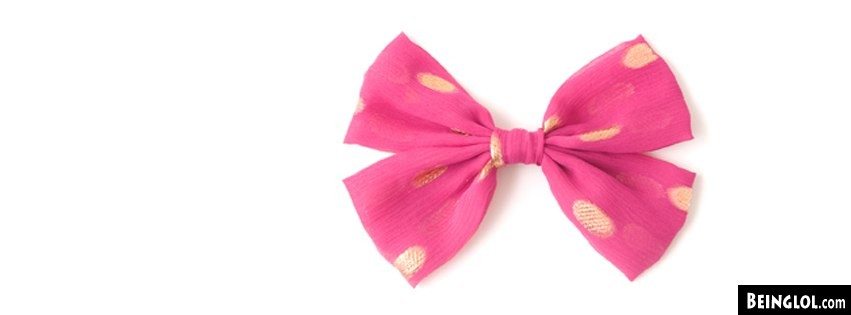 Pink Bow Facebook Covers