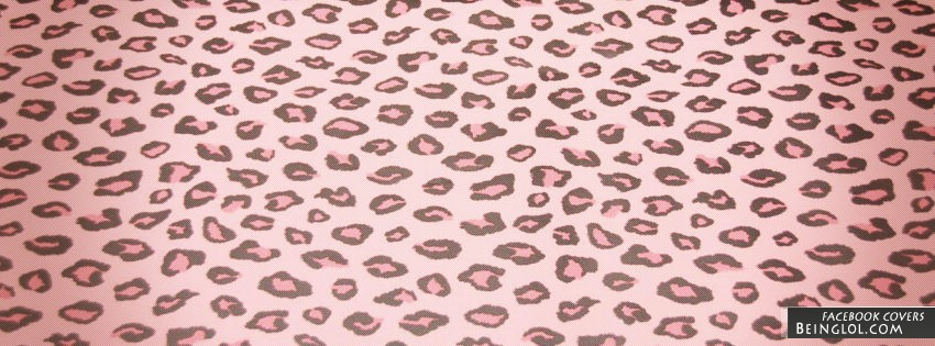 Pink Cheetah Print Facebook Covers