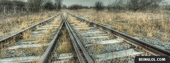Railroad Tracks Facebook Covers