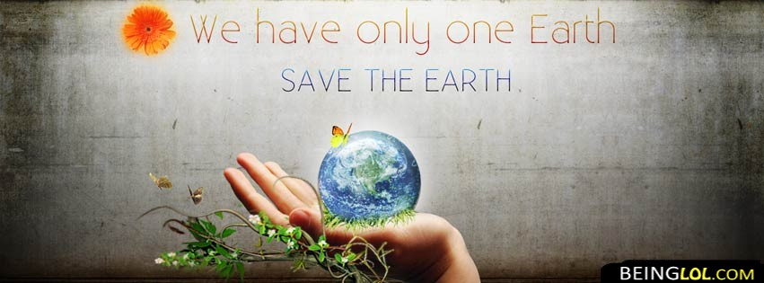 Save Earth Facebook Cover