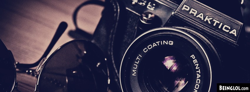 Sunglasses And Camera Facebook Covers