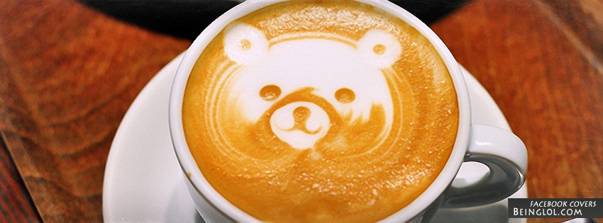 Teddy Bear Coffee Art