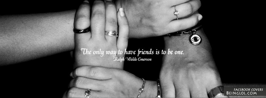 The Only Way To Have Friends