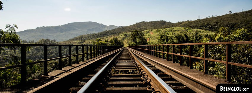 Train Track Bridge Facebook Covers