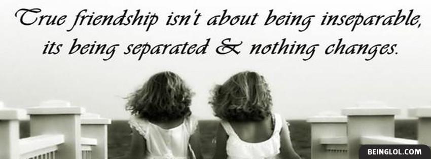 True Friendship Facebook Covers
