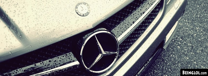 Vintage Water Drops Emblem Mercedes Benz