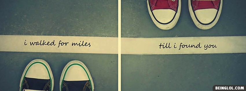Walked Miles Facebook Covers