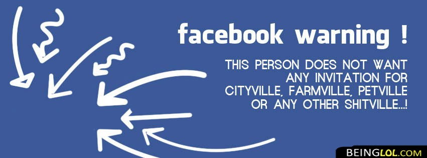 Facebook Warning Facebook Cover & Facebook Warning Cover