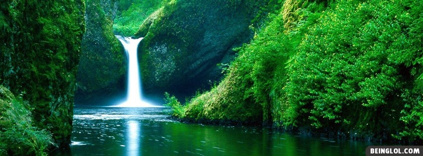 Waterfall Facebook Covers