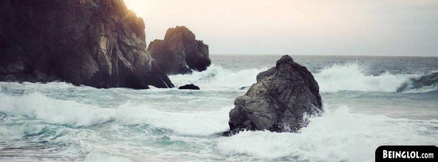 Waves Clashing