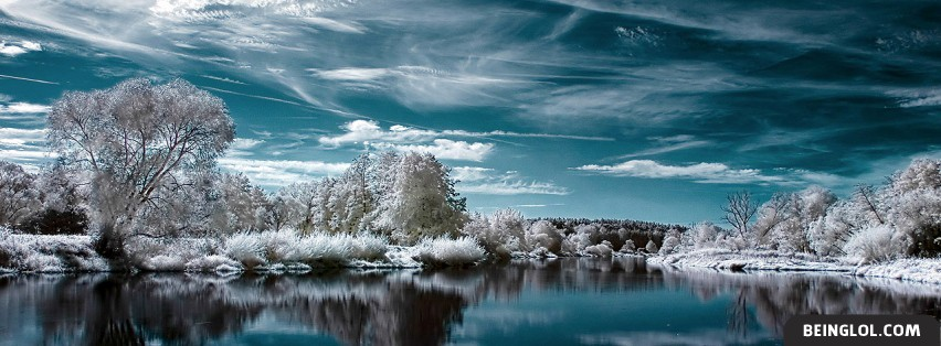 Winter Lake Best Facebook Cover Winter Lake Best Cover 1029 Nature Profile Covers Beinglol Com