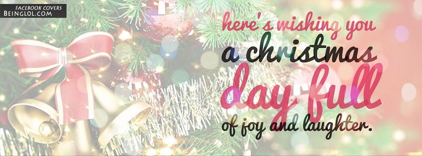 Wishing You A Christmas Day Full Of Joy And Laughter