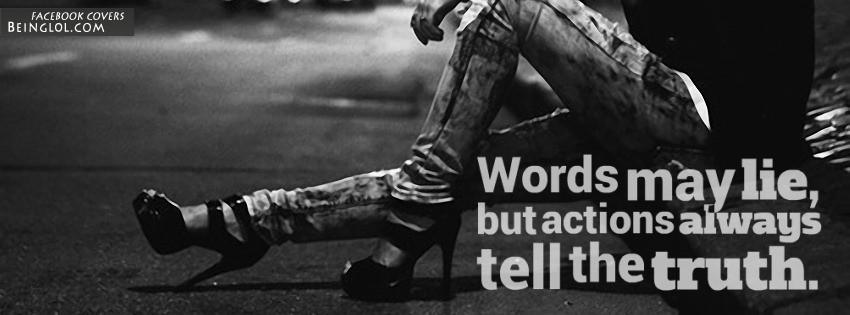 Words May Lie