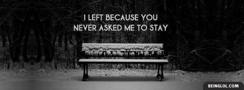 You Never Asked Me To Stay