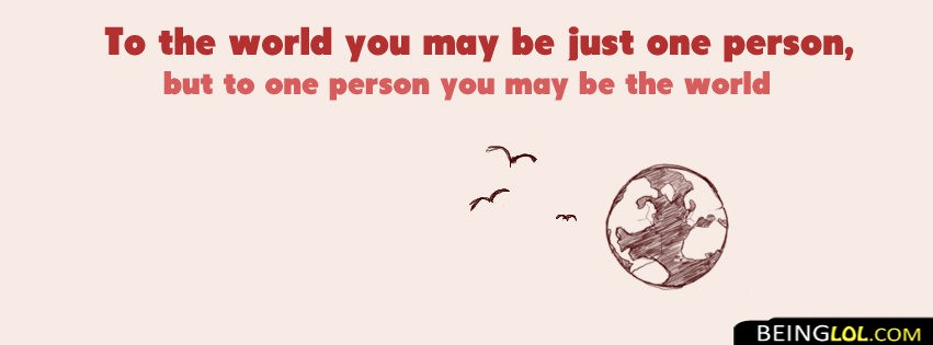 You Are My World Love Quote