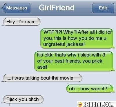 Now That's One Bad Girlfriend!