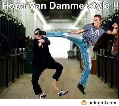 Hopa Van Damme Style