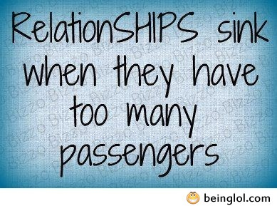 Funny Quote About Relationships