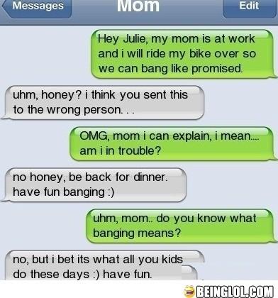 Gotta Love Mom..!!
