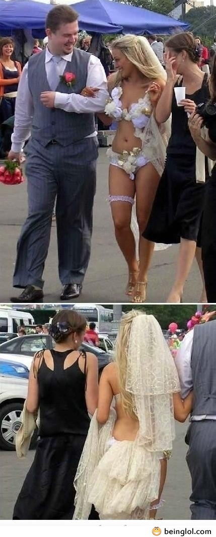 The Most Epic. Wedding Dress. Ever!!!