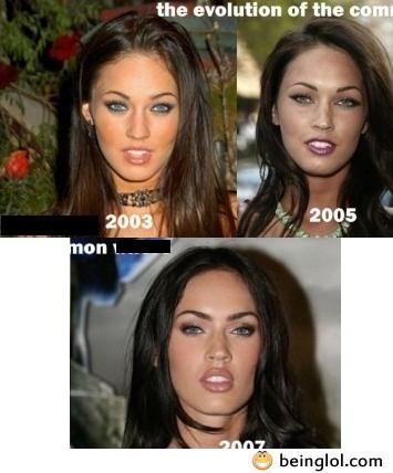 The Evolution of Megan Fox