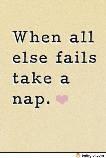 When All Fails