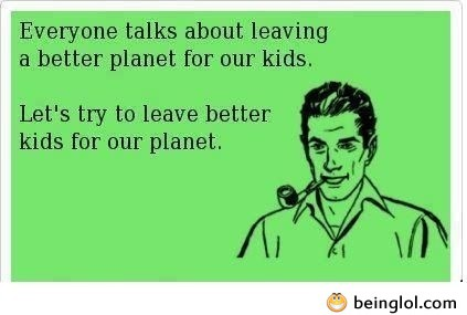 Better Kids For Our Planet