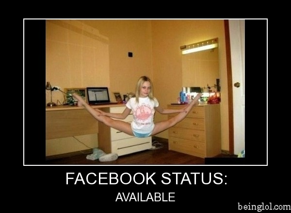 Facebook Status Available