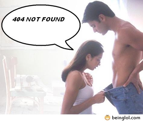 Error 404 – Page Not Found