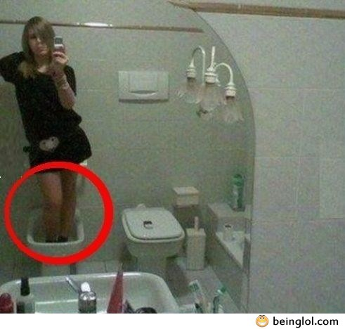 Bathroom Profile Picture Fail!!
