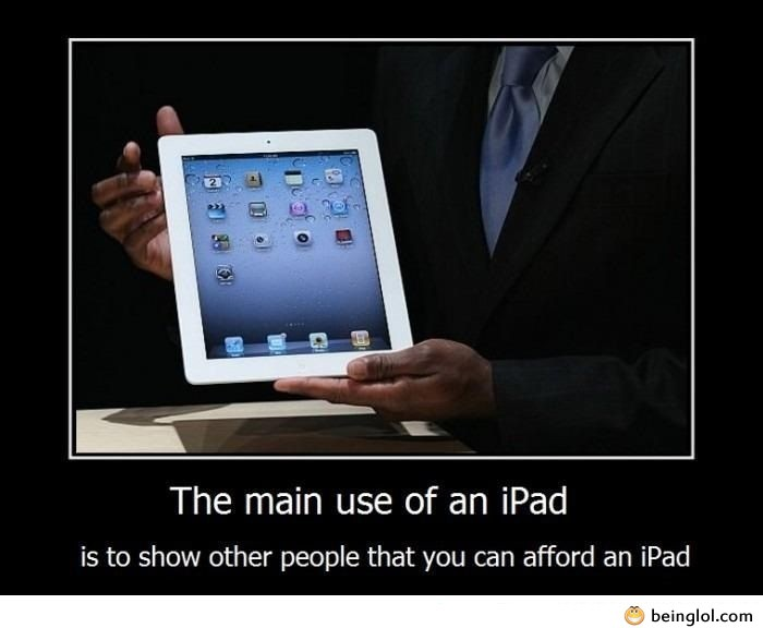 The Main Use of An Ipad