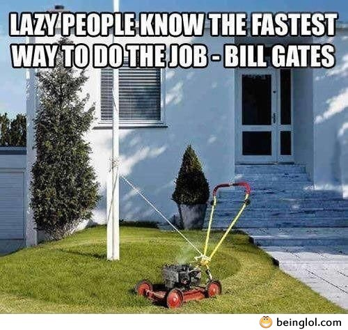 Quote About Lazy People