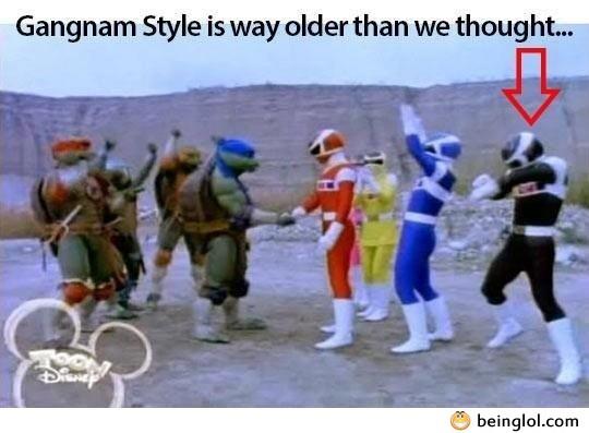 Gangnam Style Is Way Older