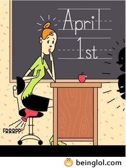 1st April Comic