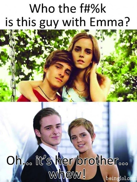 Omg Who Is That with Emma Watson
