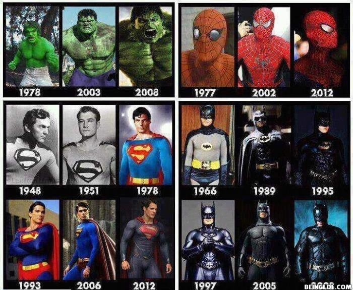 Super Hero Evolution!