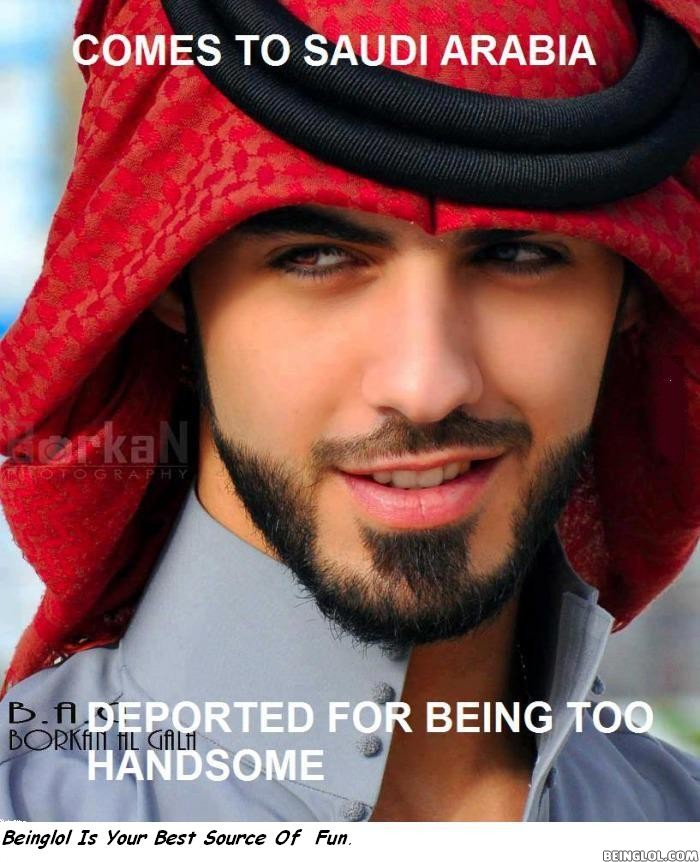 Omar Borkan Al Gala Deported From Saudi Arabia For Being 'too Handsome