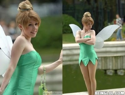 Tinkerbell In Real Life !