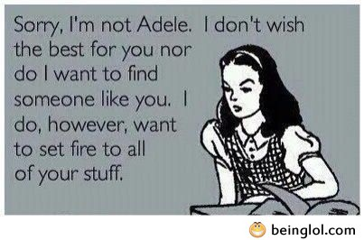 I'm Not Adele