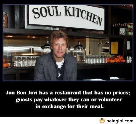 Good Guy Jon Bon Jovi