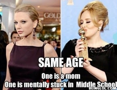 Taylor Swift & Adele !